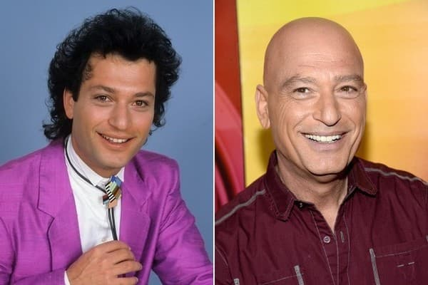 howie mandel with hair