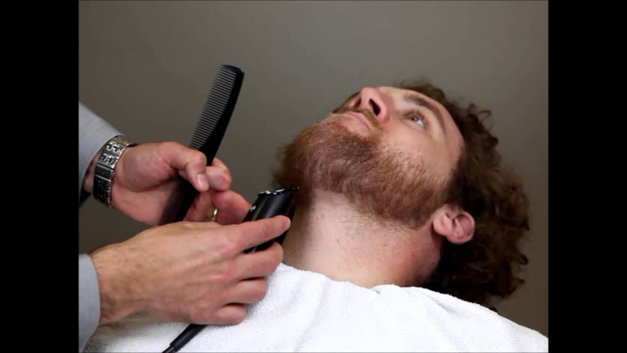 how to clean up a beard 1
