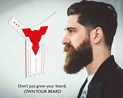 how to line up your beard 1