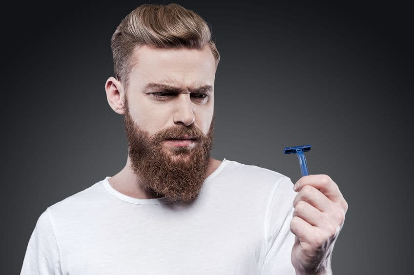 how to shave off a beard 1