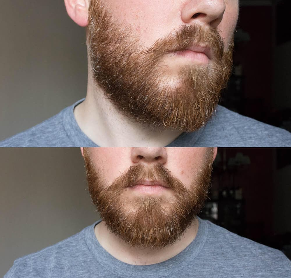proper beard trimming 1