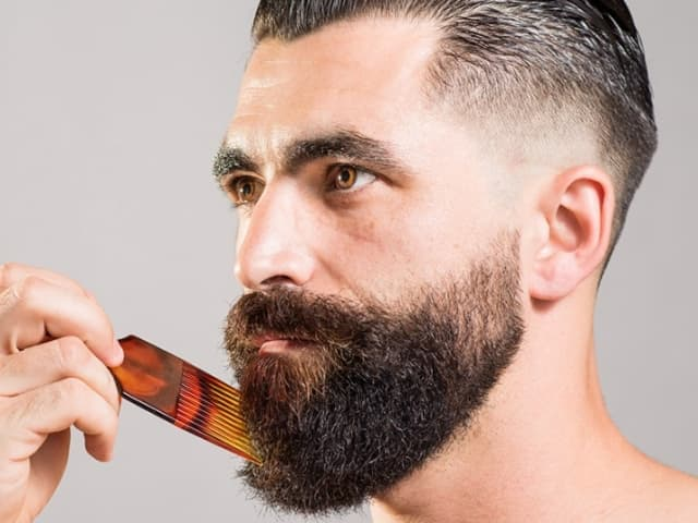 proper way to trim a beard 1