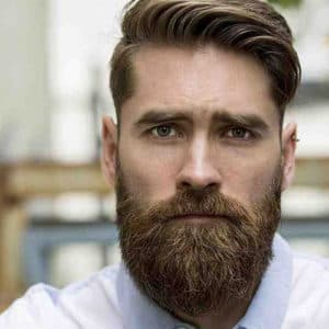 trimmed mustache with beard 1