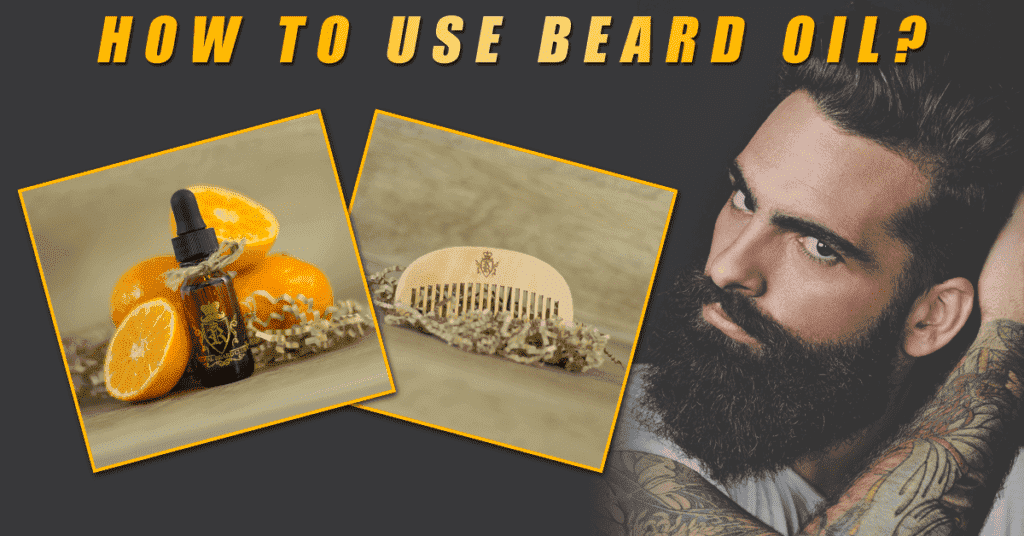 when to use beard oil 1