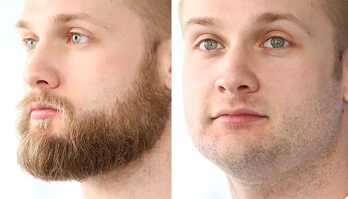 where to shave beard 1