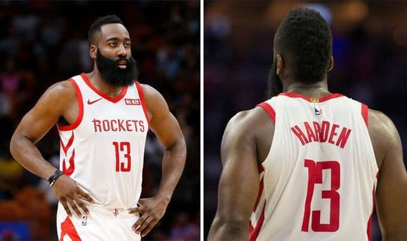 james harden without beard images