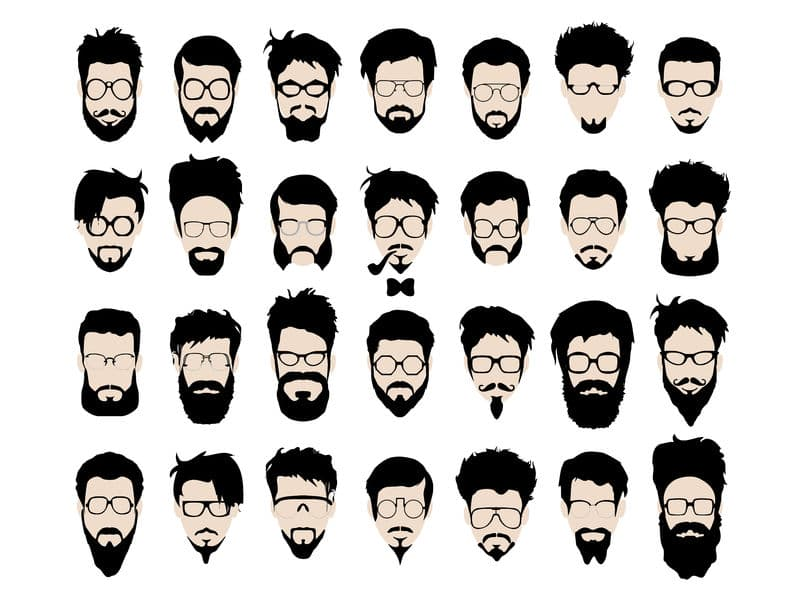 beard and mustache types 1