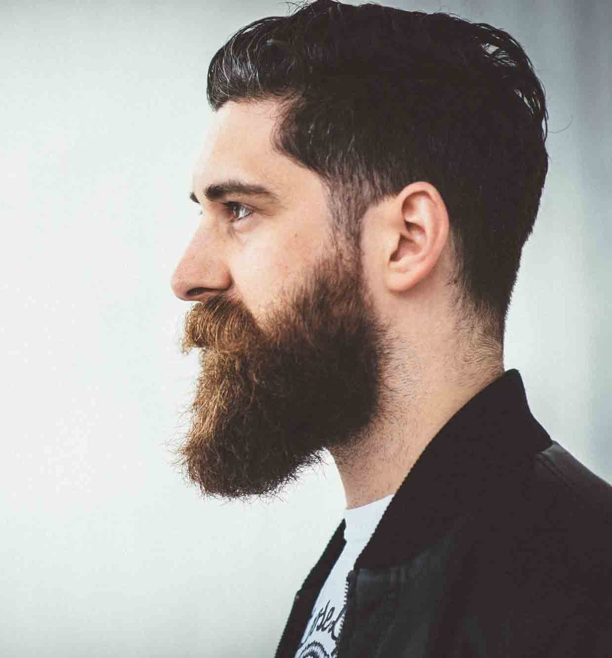 best beard styles for round face 1