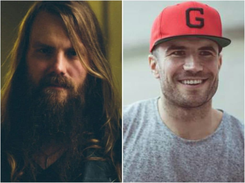 chris stapleton no beard