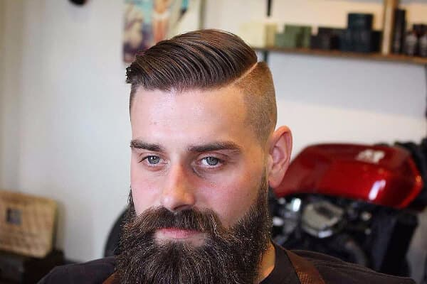 comb over with beard 1
