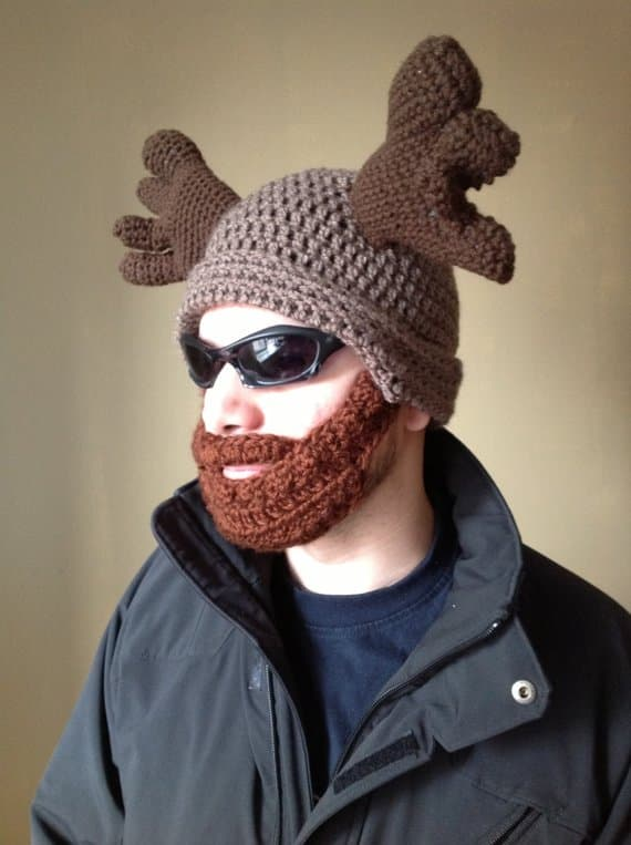 crochet beard pattern 1