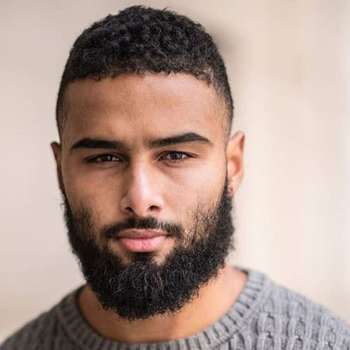 facial hair styles for black males 1