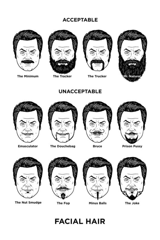 facial hair styles no mustache 1