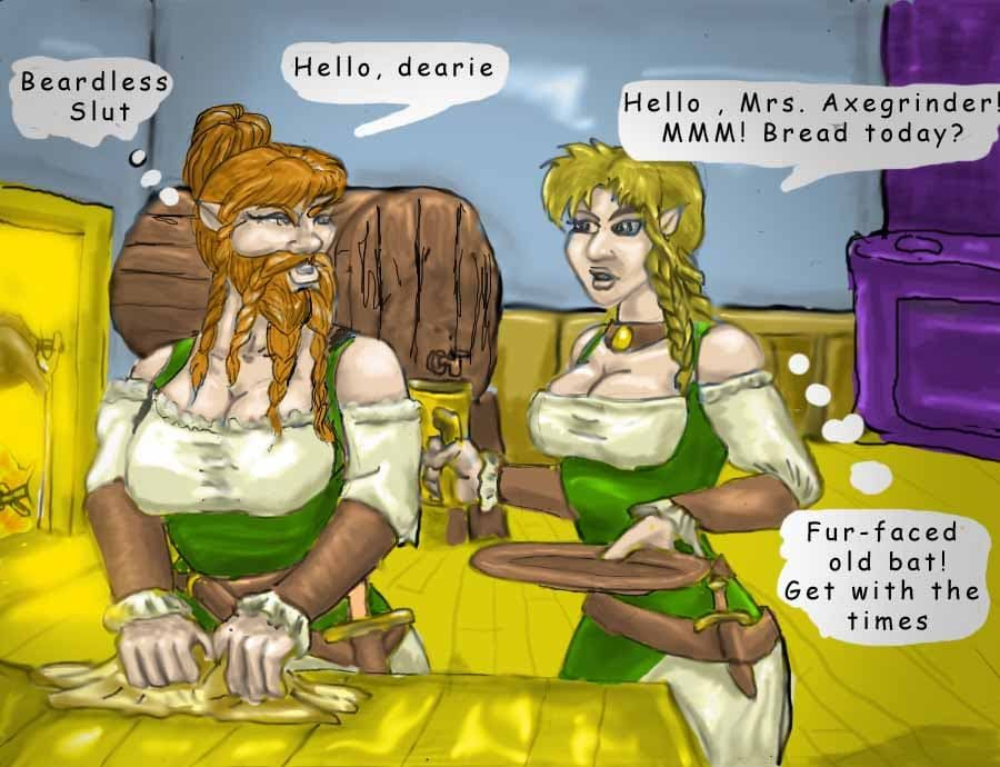 female dwarf beard 1