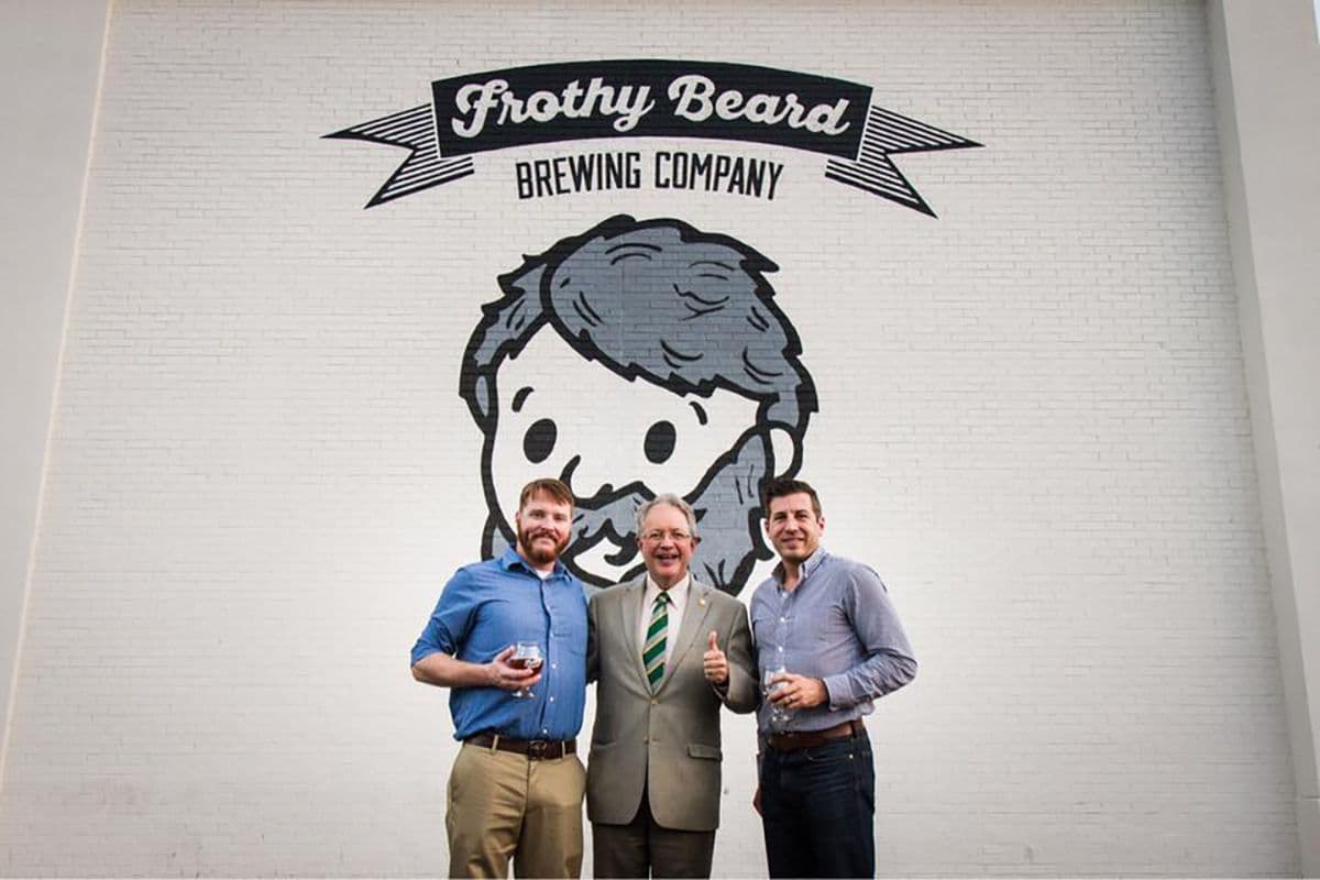 frothy beard brewery 1