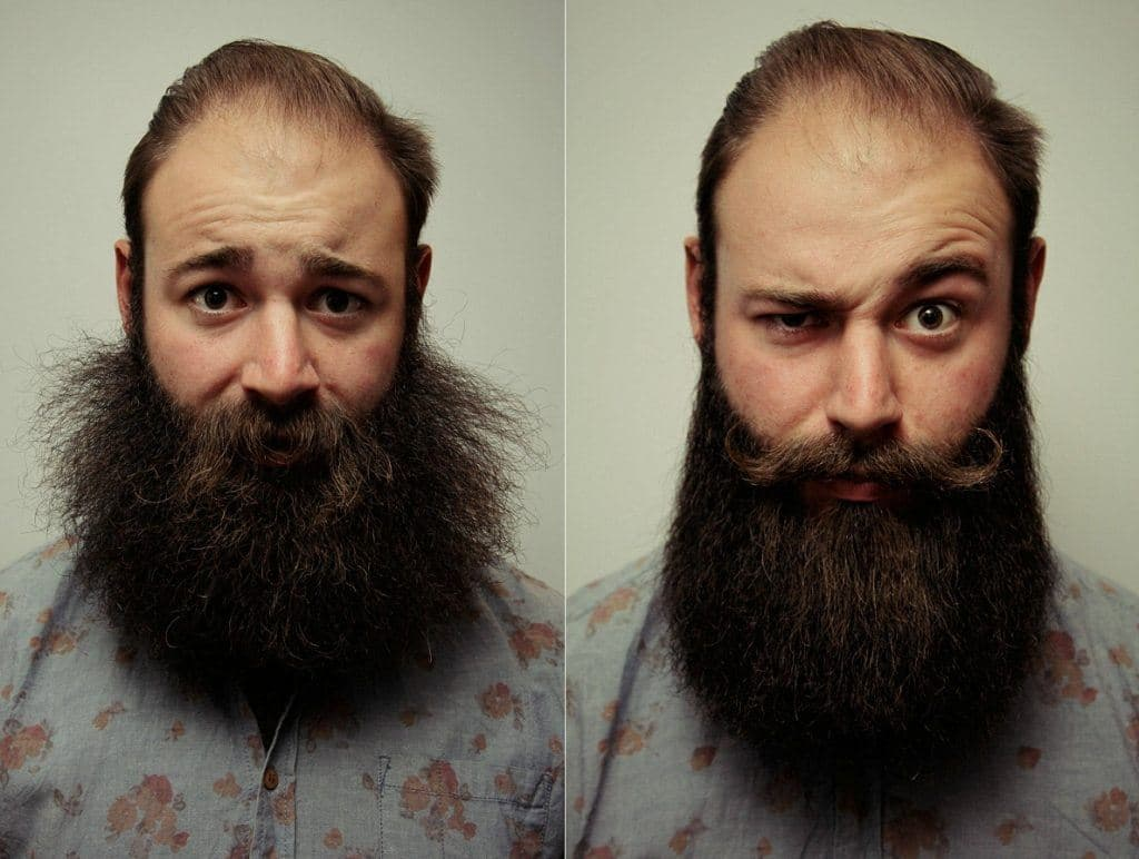 how to make beard and mustache softer 1