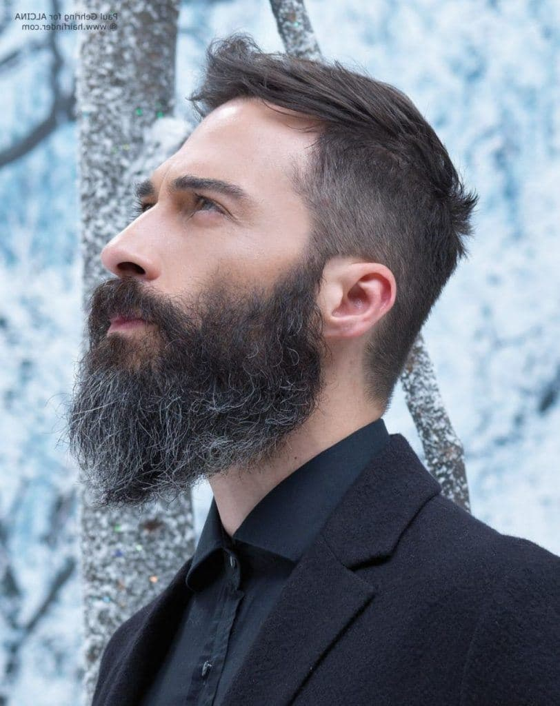 how to style beard and mustache 1