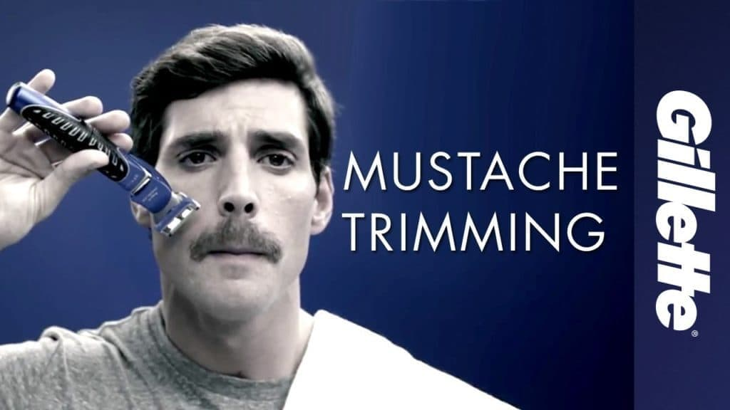 how to trim a mustache and beard 1