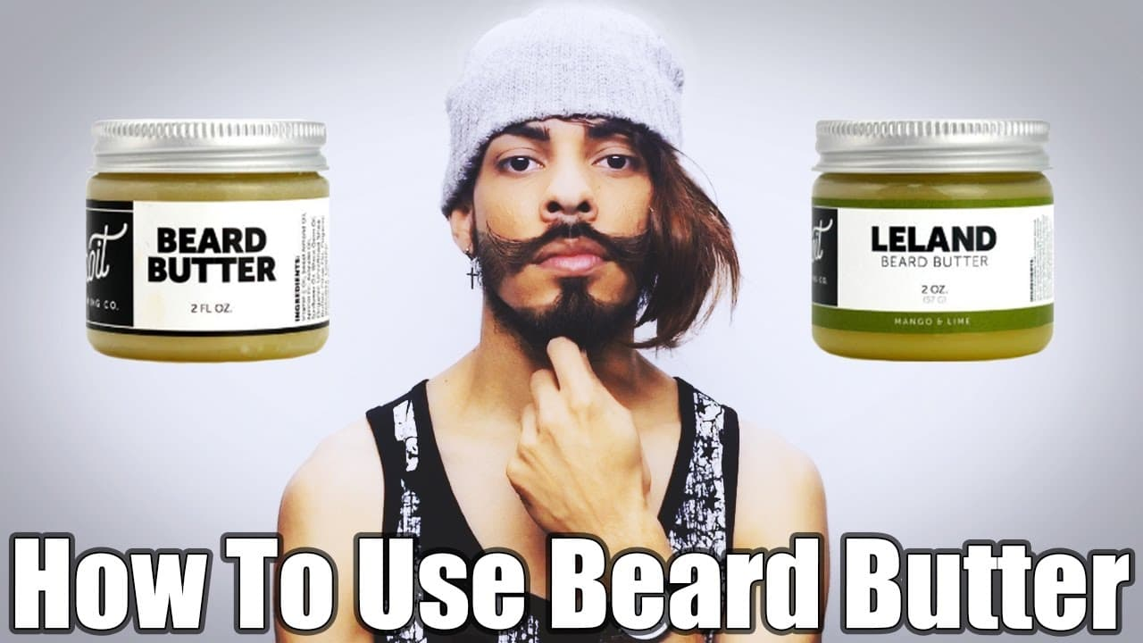 how to use beard butter 1