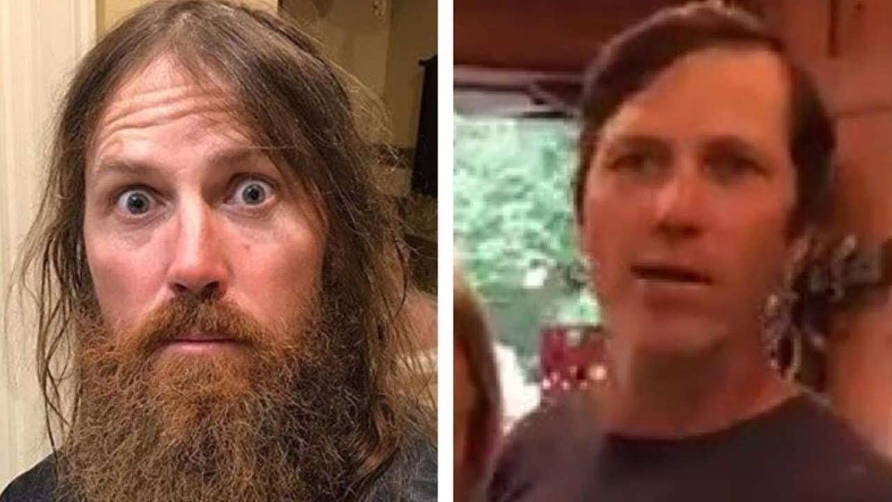 jase robertson shaved beard 1