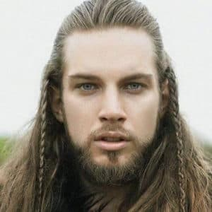 long hair with a beard 1