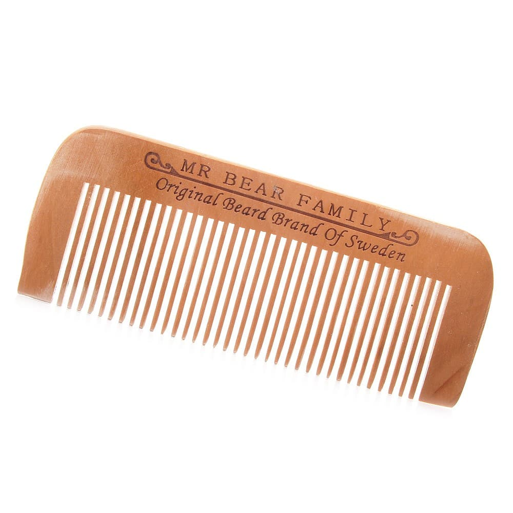 mustache and beard comb 1