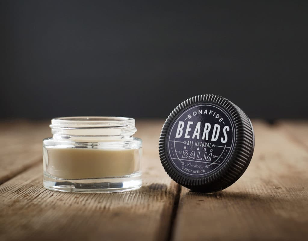 Mustache wax and beard balm