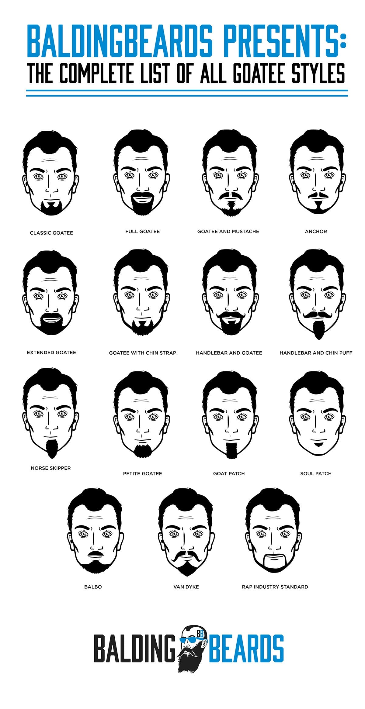short facial hair styles 2018 chart 1