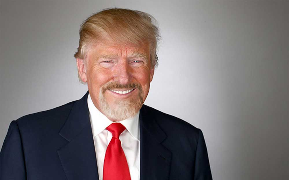who was the last president with a beard 1