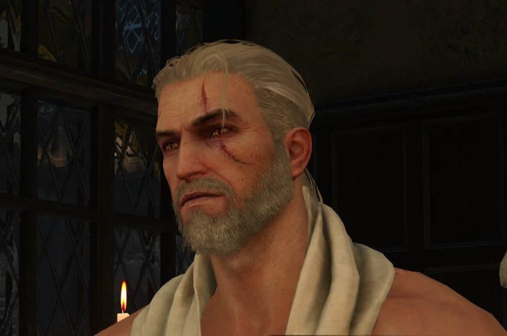 witcher 3 beard and hairstyle set 1