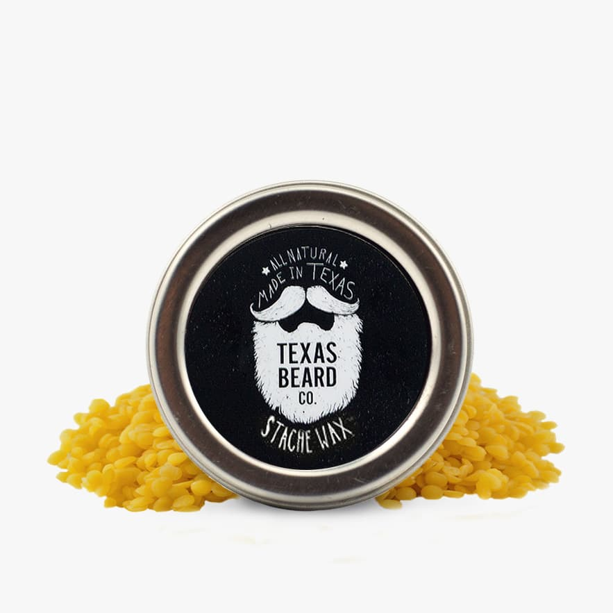 Can i use mustache wax on my beard