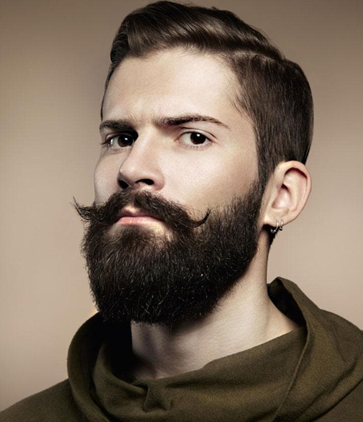 cool mustache and beard styles 1