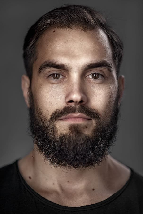cute guys with beard and mustache 1