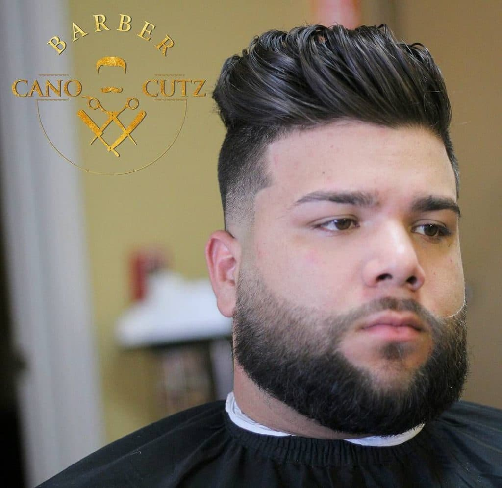 facial hair styles for fat guys 1
