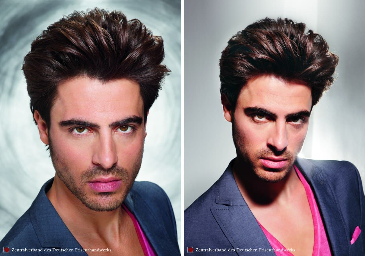 hairstyle with beard and mustache 1