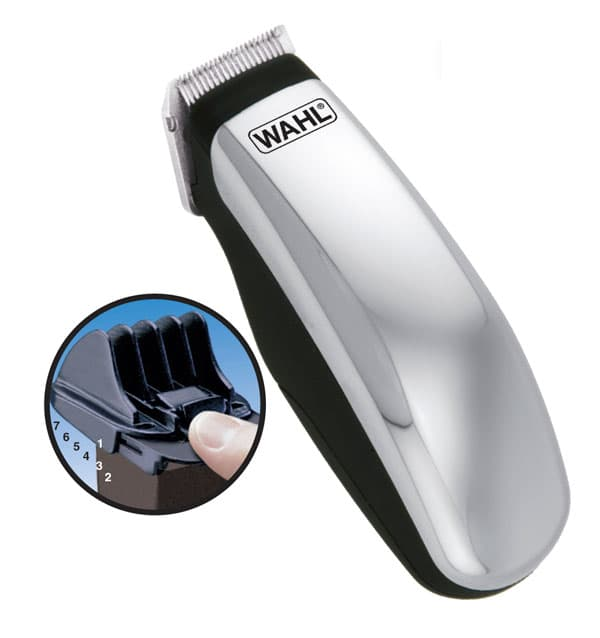 Wahl beard and mustache battery operated travel trimmer