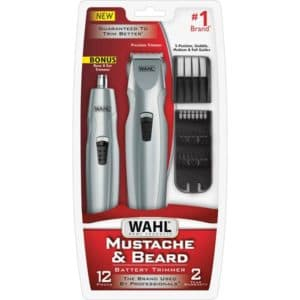 wahl mustache and beard trimmer reviews 1