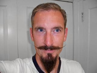 what do you call a beard without a mustache 1