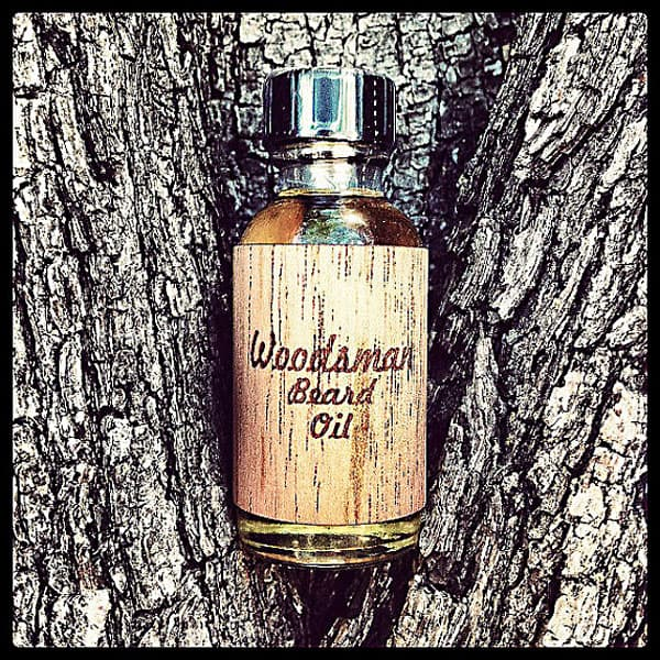 Woodsman mustache wax and beard oil