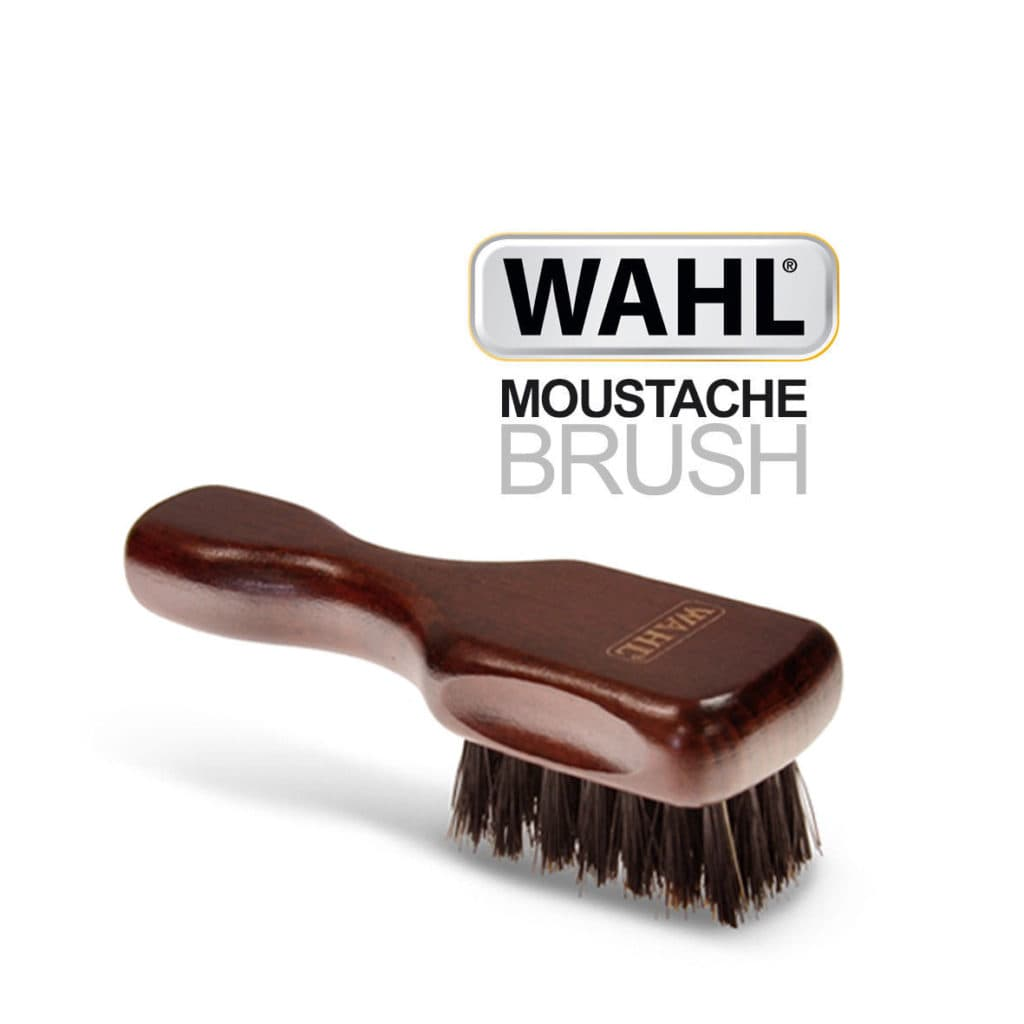 Mustache and beard brush