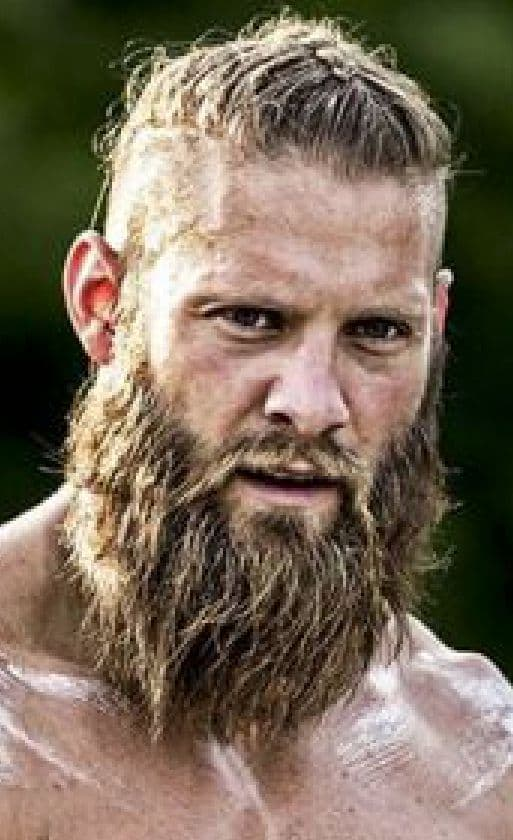Viking mens facial hair styles