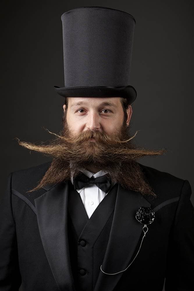 2014 beard and mustache competition photo - 1