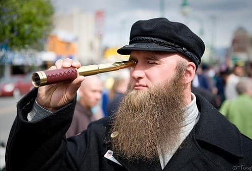 amish beard without mustache photo - 1