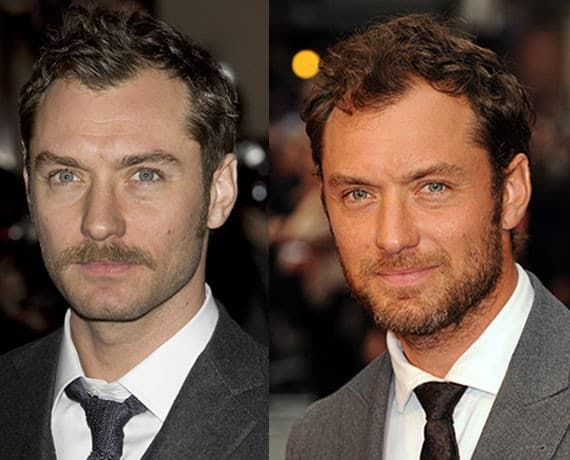 attractive facial hair styles photo - 1