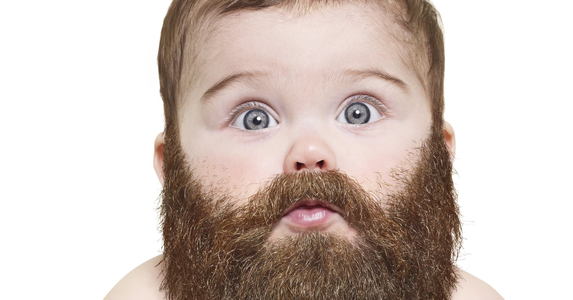 baby born with beard photo - 1