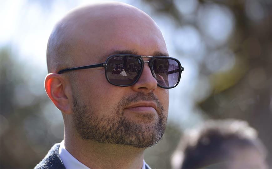 bald men facial hair styles photo - 1