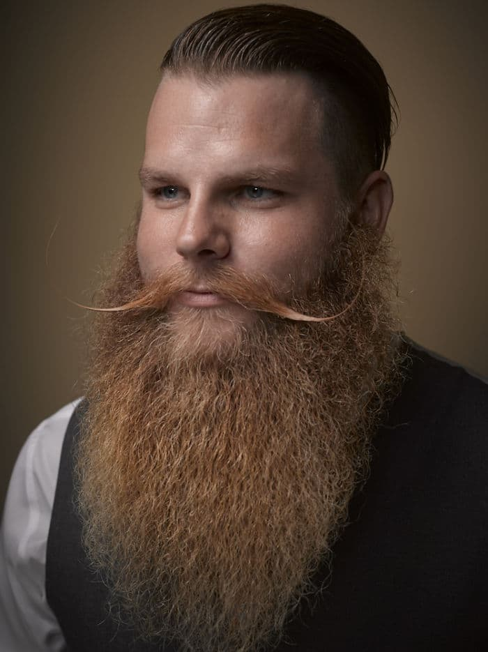 beard and mustache contest photo - 1