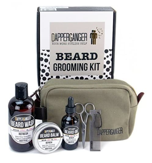 beard and mustache grooming kit photo - 1