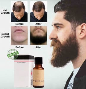 beard and mustache growth oil photo - 1