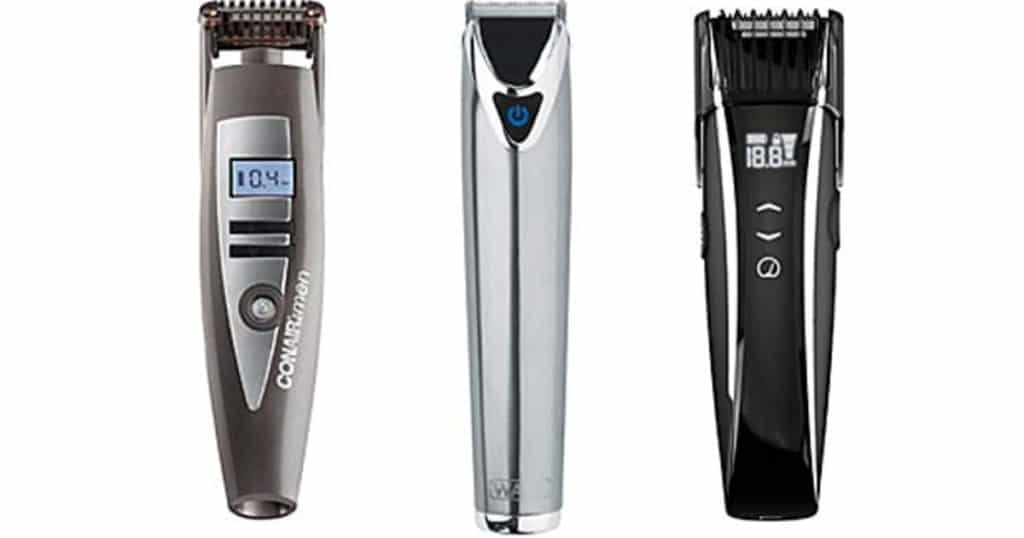 beard and mustache trimmer photo - 1